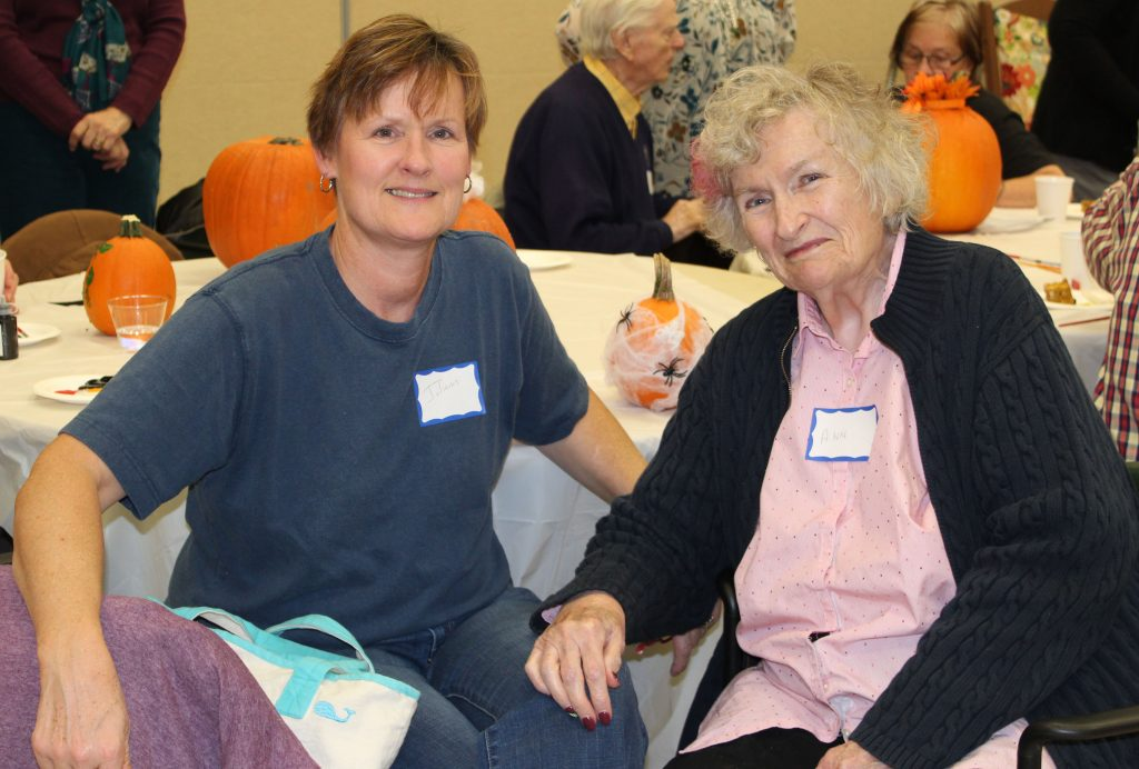 Attending Memory Cafe with Caregiver