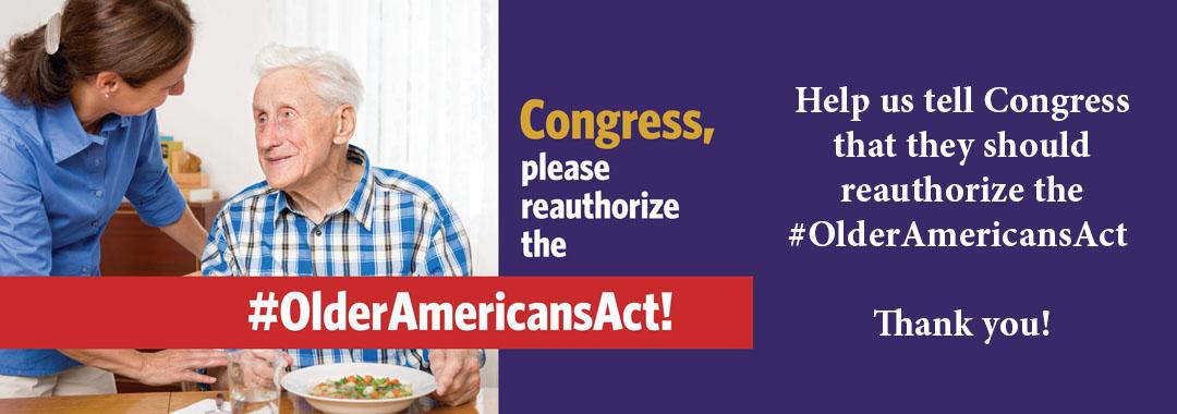 #OlderAmericansAct